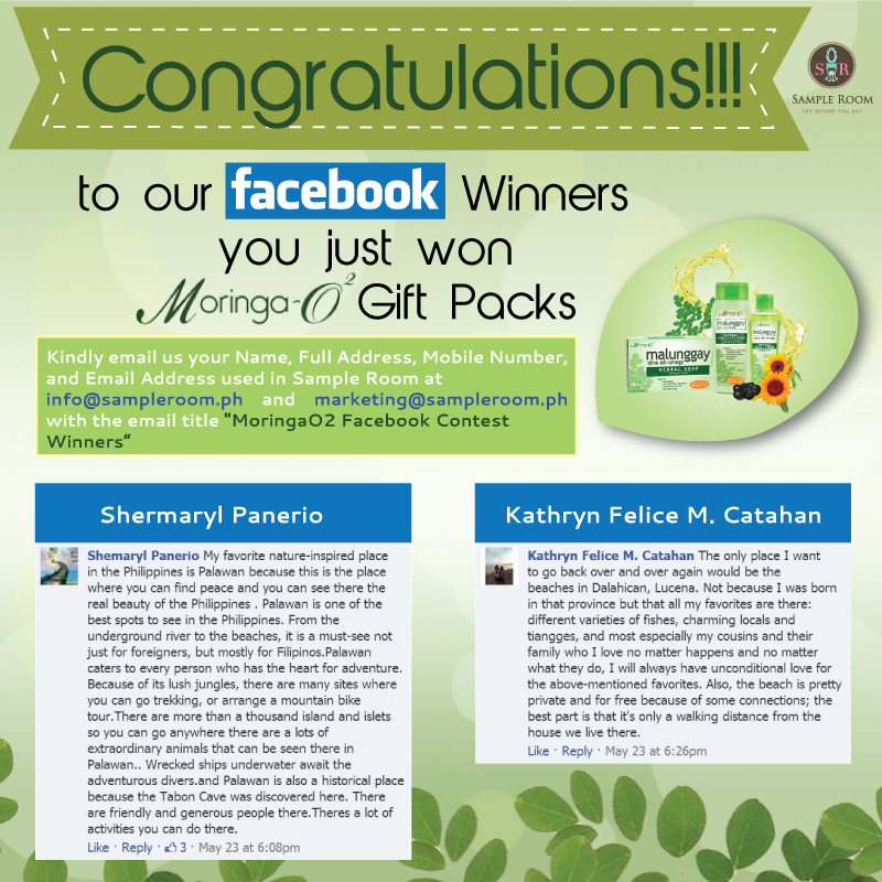 winner-moringaO2facebook
